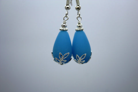 Kulu Wai Earrings • Powder Blue