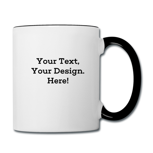 Customized Mug - white/black