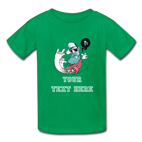 Customize it! - Kids' T-Shirt - kelly green