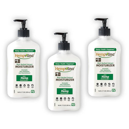 Hempvana Rich Herbal Extract Moisturizer 3-Pack