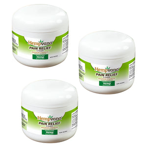 Hempvana Pain Relief Cream 3-Pack silo image