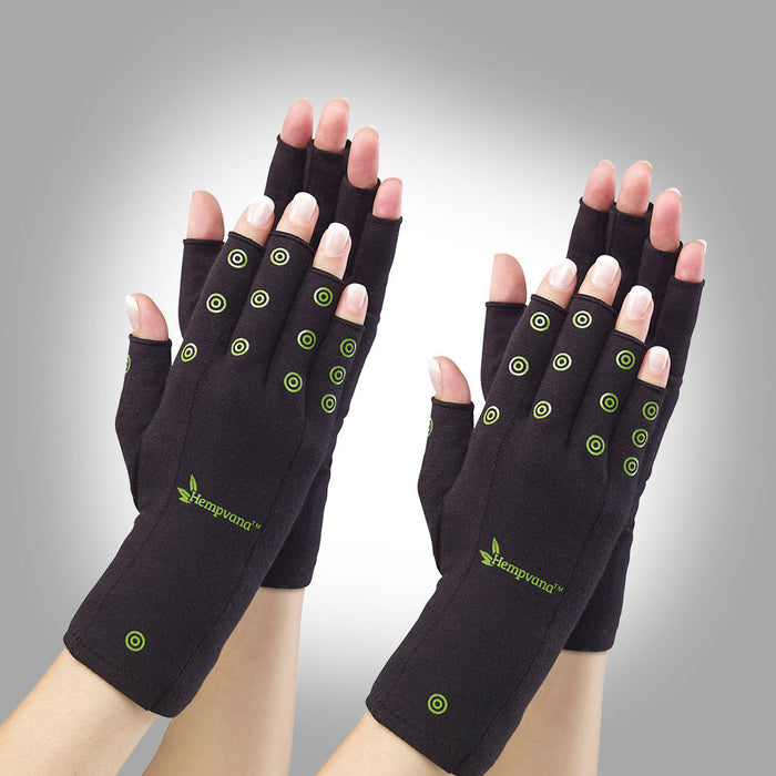 Hempvana Arthritis Gloves 2-Pack