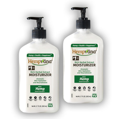 Hempvana Rich Herbal Extract Moisturizer 2-Pack