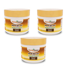 Load image into Gallery viewer, Hempvana Gold Pain Relief Cream 3-Pack silo image