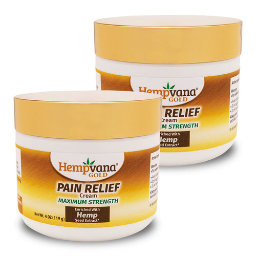 Hempvana Gold Pain Relief Cream 2-Pack silo image