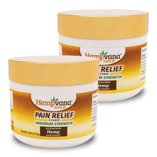 Load image into Gallery viewer, Hempvana Gold Pain Relief Cream 2-Pack silo image
