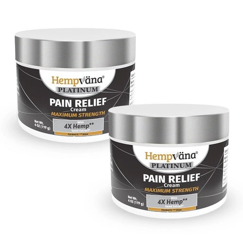 2pk Platinum Pain Relief Cream + Turmeric & Aloe - NATIVO