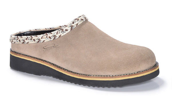 Rincon Point Clog - Suede – Taupe                                                                             August Promotion 25% discount automatic at checkout
