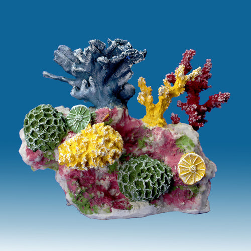 DM012 Small Coral Reef Aquarium Decoration for Salt Water Fish Tanks
