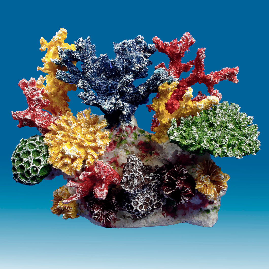 DM036 Small Coral Reef Aquarium Decoration for Salt Water Fish Tanks