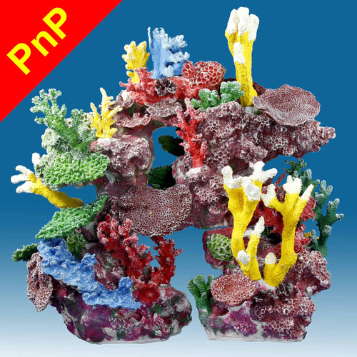 DM039PNP Coral Reef Aquarium Decor for Marine Fish Tanks