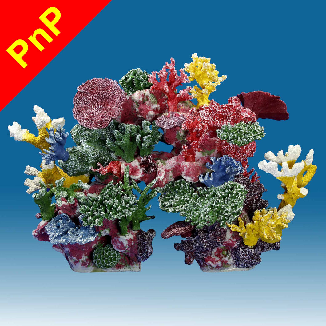 DM040PNP Large Coral Reef Aquarium Decor for Marine Fish Tanks