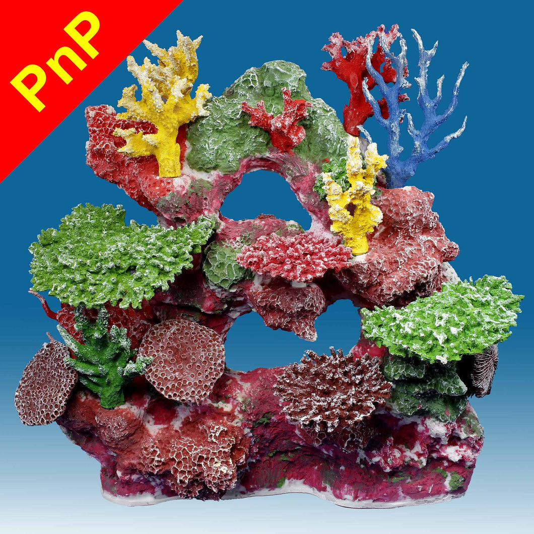 DM042PNP Large Reef Fish Aquarium Decoration for Saltwater Tanks