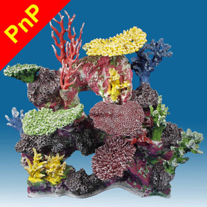 DM043PNP Large Reef Fish Aquarium Decoration for Saltwater Tanks