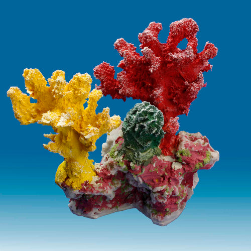 DM049 Fake Coral Aquarium Ornament for Salt Water Tanks