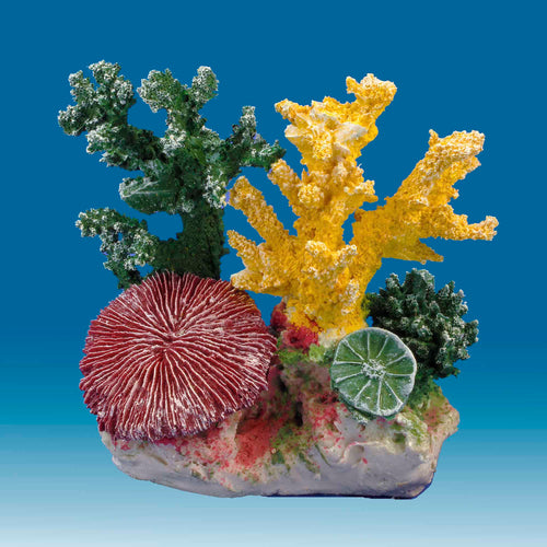 DM050 Fake Coral Reef Decor, Aquarium Ornament for Salt Water Tanks