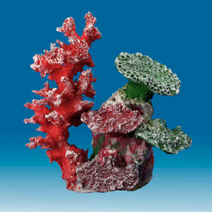 DM051 Fake Coral Reef Decor, Aquarium Ornament for Salt Water Tanks