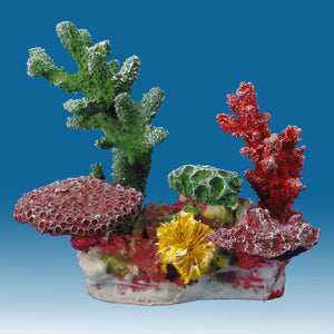 DM052 Fake Coral Reef Decor, Aquarium Ornament for Salt Water Tanks