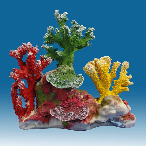 DM053 Fake Coral Reef Decor, Aquarium Ornament for Salt Water Tanks