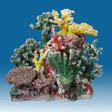 Load image into Gallery viewer, DM057 Small Coral Reef Tank Décor for Salt Water Fish Aquariums