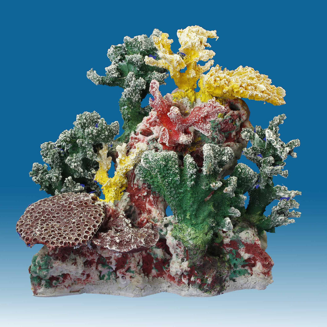 DM057 Small Coral Reef Tank Décor for Salt Water Fish Aquariums