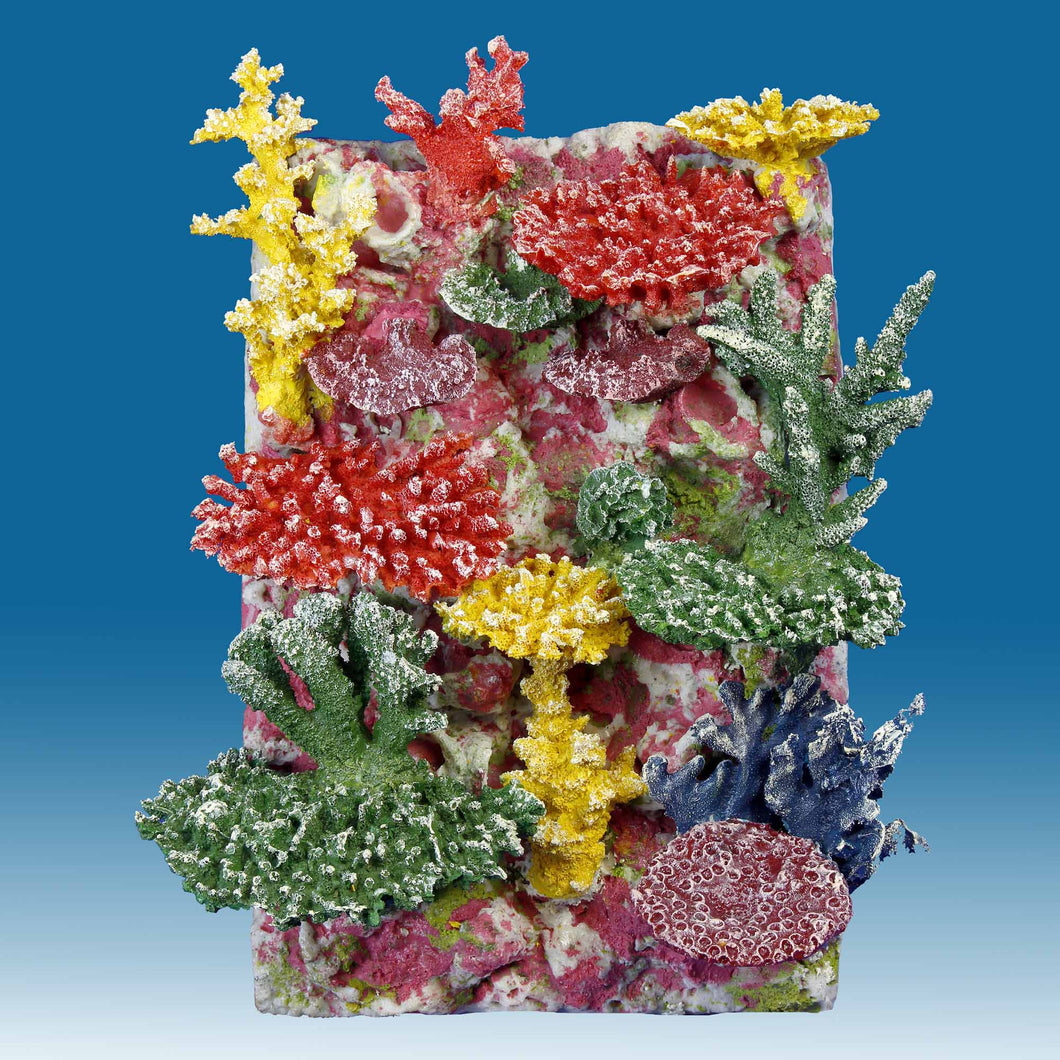 DM059A 3D Fish Aquarium Background for Saltwater Tanks