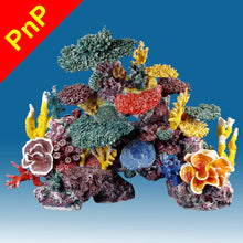 Load image into Gallery viewer, DM060PNP X-Large Fake Coral Reef Tank Decoration for Saltwater Fish Aquariums
