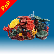 Load image into Gallery viewer, INSTANT REEF® DM064PNP Coral Reef Aquarium Decor for Marine Fish Tanks