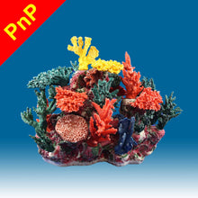 Load image into Gallery viewer, INSTANT REEF® DM065PNP Coral Reef Aquarium Decor for Marine Fish Tanks