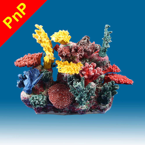 INSTANT REEF® DM066PNP Coral Reef Aquarium Decor for Marine Fish Tanks