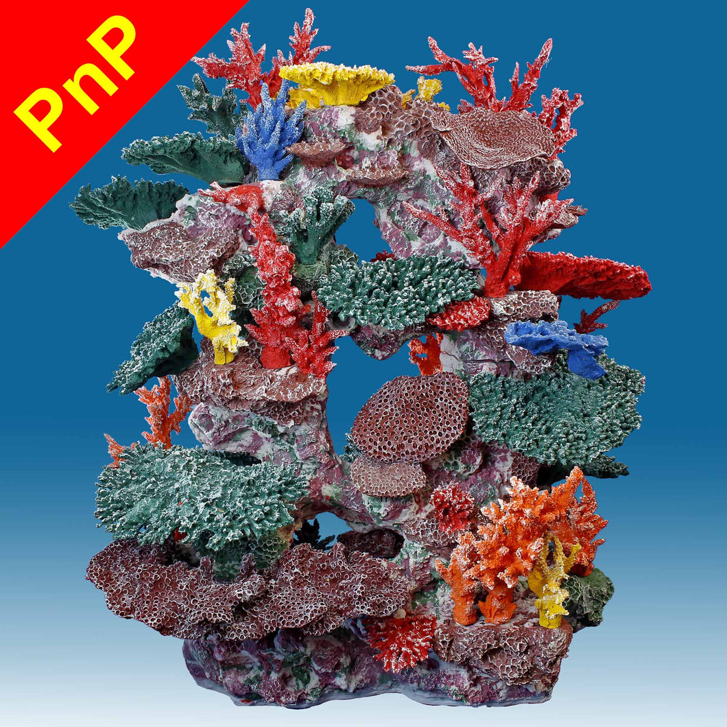 DM067PNP X-Large Tall Reef Fish Tank Decoration for Saltwater Aquariums