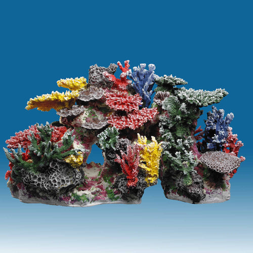 INSTANT REEF® R064 Coral Reef Aquarium Decor for Marine Fish Tanks