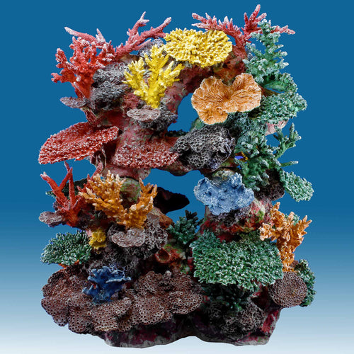 INSTANT REEF® R67S Tall Reef Fish Tank Decoration for Saltwater Aquariums