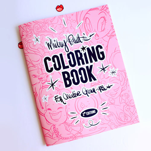 A Coloring Book for Creative Grown-Ups!