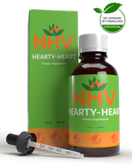 NHV Hearty Heart Natural Pet Product. 100% natural supplement for heart conditions in cats and dogs.