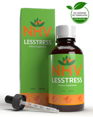 Lesstress NHV Natural Pet Products. 100% Natural support for canine stress and anxiety.