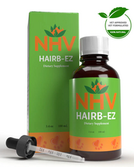 NHV Hairb-Ez is an all-natural herbal cat hairball remedy