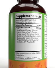 NHV Natural Pet Products BK-Detox. Pet Immune System Booster, Cancer Support, Gentle Detox, and Blood Cleanser