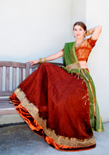 Load image into Gallery viewer, Eternal Pleasure - Gopi Skirt Lehenga