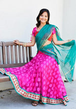 Load image into Gallery viewer, Caught By The Spot Light - Gopi Skirt Lehenga