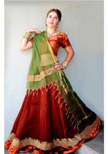 Eternal Pleasure - Gopi Skirt Lehenga