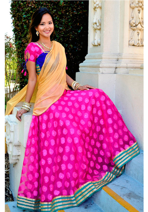Enchanting -Gopi Skirt Lehenga