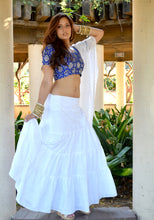 Load image into Gallery viewer, Dancing Daisies - Gopi Skirt Lehenga