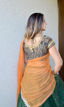 Load image into Gallery viewer, Forest Diva - Gopi-Skirt-Lehenga
