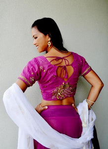 Rose Petals - Gopi Skirt or Lehenga