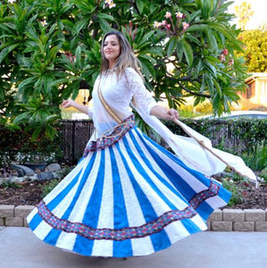 Flying with the Wind - Gopi Skirt Outfit