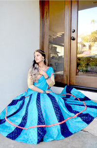 Mystical Blue - Gopi Skirt Outfit