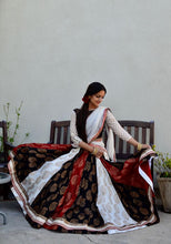 Load image into Gallery viewer, Dancing Paisleys - Gopi Skirt Lehenga - Sold Out