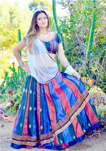 Fall Fusion-Gopi Skirt Lehenga