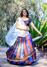 Load image into Gallery viewer, Fall Fusion-Gopi Skirt Lehenga